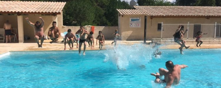 Camping Le Chambron - Piscine
