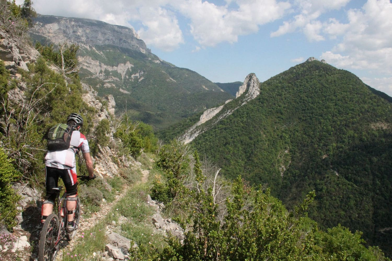 VTT Drôme Provençale